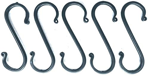 Wrought Iron Hook Medium