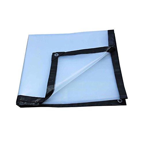 XJLG-Plane Regenfestes Tuch Transparente Plane, regendichte Sonnenschutzplane Anlage staubdicht Winddicht Schuppen Tuch Isolierung Tuch Hochtemperatur-Anti-Aging Zelt im Freien