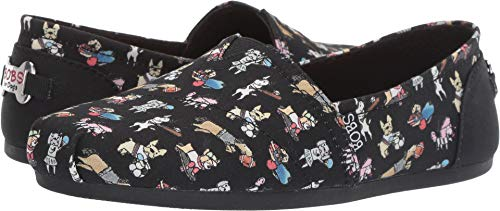 Skechers BOBS from Women's Bobs Plush - Doggie Daycare Black 8 B US