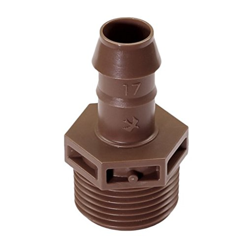 - Rainbird XF Series Barbed Insert Adapter X MPT, 17mm/3/4