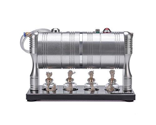 Sunnytech Hot Live Steam Engine Cylinder Unibody Design Boiler education Toy DIY GL-002