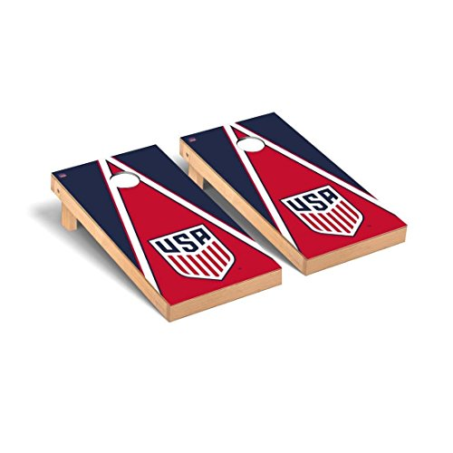Victory Tailgate US Soccer Desktop Cornhole Game Set Triangle Version by Victory Tailgate