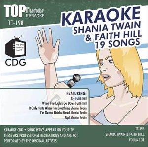 Top Tunes Karaoke CDG TT-198 Artist Vol. 31 Shania Twain & Faith Hill (Karaoke Tunes Top)
