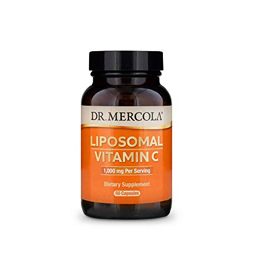Cheap Dr. Mercola Liposomal Vitamin C Dietary Supplement, 1,000mg per Serving, 90 Servings (180 Capsules), Immune Support, Non GMO, Soy Free, Gluten Free nutriflair liposomal vitamin c