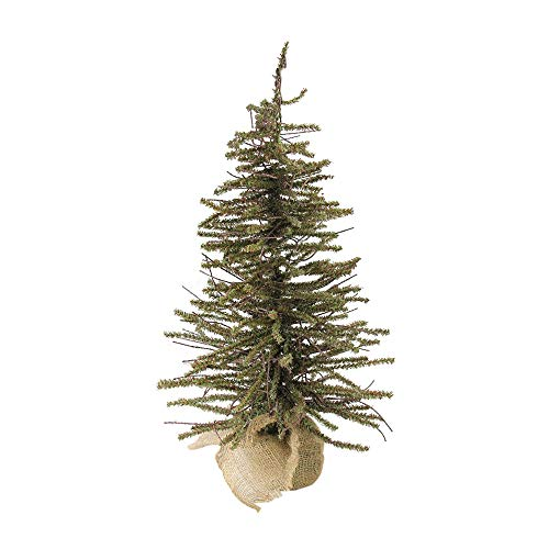 Northlight 2' Warsaw Twig Artificial Christmas Tree with Burlap Base - Unlit