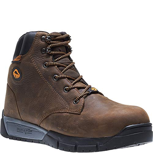 Wolverine Men's Mauler LX Composite Toe Waterproof Work Boot, Brown, 13 3E US by Wolverine (Image #3)