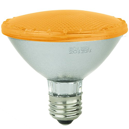 - Sunlite 80033-SU PAR30/LED/3W/A 3-watt 120-volt Medium Base LED PAR30 Turtle Friendly Lamp, Amber