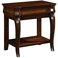 Broyhill Aryell Light Night Table, Autumn Cherry
