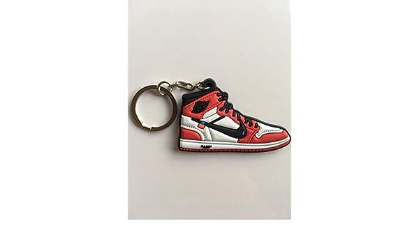 Amazon.com : Jordan Retro 1 OG X Off-White Chicago Sneaker ...