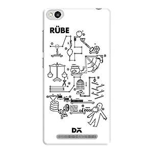 DailyObjects Rube Goldberg Machine Case For Xiaomi Redmi 3