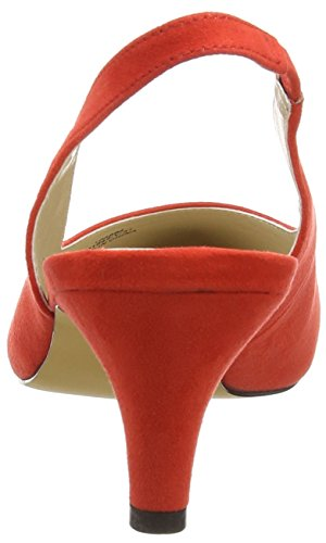para 31 K1 Zapatos Shoes Another de Rojo Red Pair Tacón Paline of Mujer 8xTHFgq