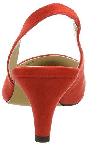 para 31 K1 Zapatos Shoes Another de Rojo Red Pair Tacón Paline of Mujer 8xTHFgq