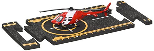 Bell 206 Jet Ranger - Hot Wings Bell 206 Jet Ranger (Life Flight) with Connectible Runway