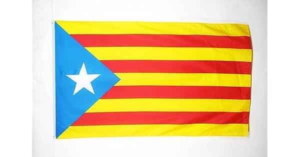 Amazon.com: Cataluña Estelada blava Bandera 3 x 5 ...
