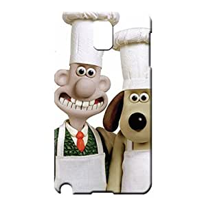 samsung note 3 covers protection Anti-scratch Hot Style cell phone covers wallace and gromit cartoonss