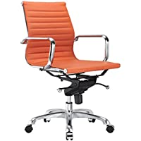 Meelano M344 Office Chair in Orange