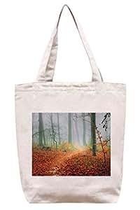 Seguir la niebla–algodón Canvas Tote Bag