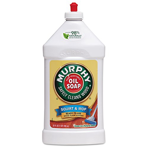 Murphy's Oil Soap Squirt and Mop Ready To Use Wood Floor Cleaner, 32 Oz (Furniture Wood Coconut)