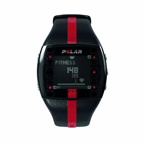 POLAR Sportuhr FT7M Black Red, 0725882013046