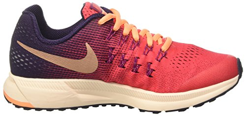 Nike 834317-800, Zapatillas de Trail Running para Niñas Naranja (Ember Glow / Mtlc Red Bronze)