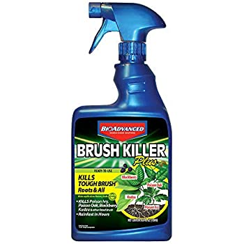 BioAdvanced 704630D Triclopyr Kills Kudzu, Poison Ivy and Other Tough Brush Killer Plus Non-