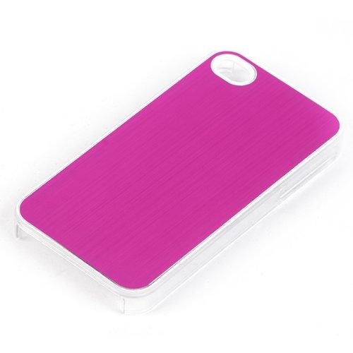 NFE² Basic Line BackCover – Brushed Violet Crystal Look – für iPhone 4 und 4 S