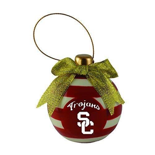 (University of Southern California-Christmas Bulb Ornament)