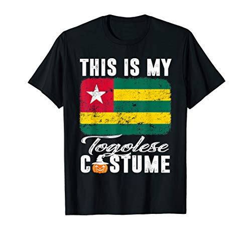 Togo Flag Tshirt This Is My Togolese Costume Funny]()