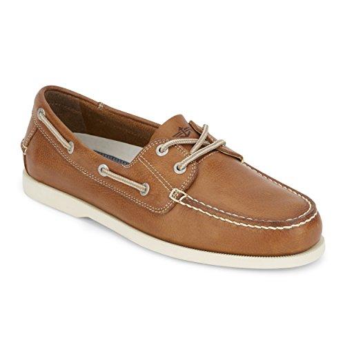 Dockers Hombre Cuero Vargas Zapatos Náuticos cosida a mano-elegir talla Color