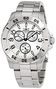 Invicta Men's 1441 Silver Dial Stainless-Steel Watch
