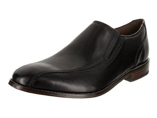 Bostonian Men's Ensboro Step Slip-on Loafer Black Leather