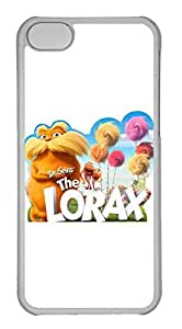 iPhone 5C Case, iPhone 5C Cases - Protective Crystal Clear Case for iPhone 5C Dr Seuss The Lorax Movie Extremely Thin Clear Hard Case for iPhone 5C