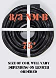 8/3 NM-B x 75' Non-Metallic Electrical Cable