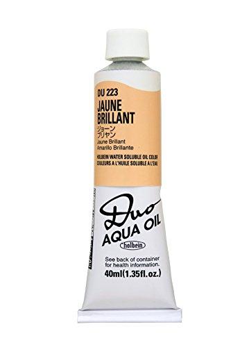 Holbein Duo Aqua Oil Jaune Brilliant (B) 40ml