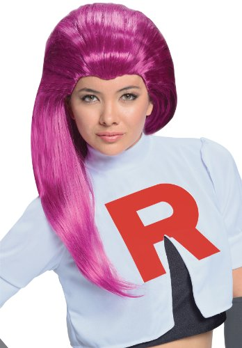 Rubie's Costume Pokémon Jessie Adult Wig, Red, One Size