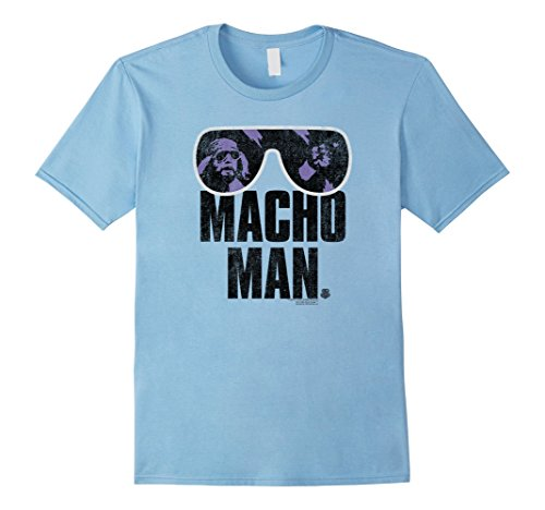 Mens WWE Macho Man Classic Distressed Sunglasses 3XL Baby - Sunglasses Wwe