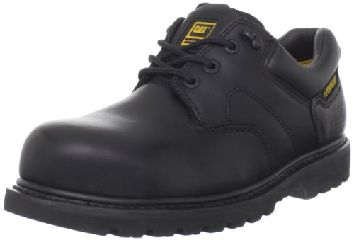 Caterpillar Men's Ridgemont Steel Toe Work Boot,Black,10 M US