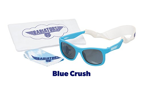 Babiators Gift Set - Blue Crush Navigator Sunglasses (Age 0-3) and Accessories Pack… by Babiators
