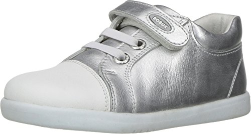 Bobux , Baskets mode pour fille gris Silver