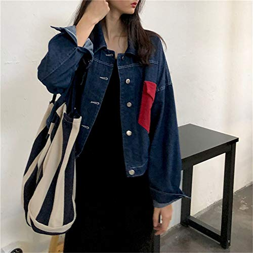 coréenne nouveau sac petit bandoulière rétro à grand portable fraîche sac automne sac littéraire toile LANDONA rayée femme en Yw4qvx85U