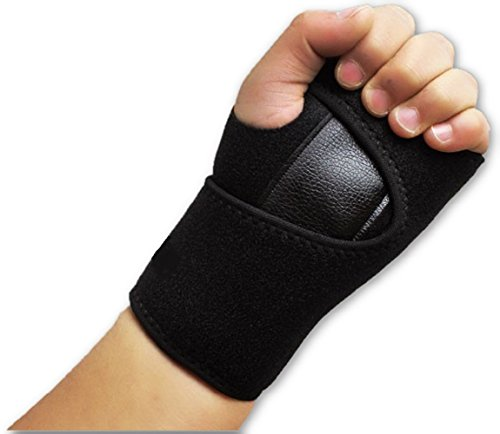 Comfortable Wrist Support Brace Strap Band By LOKSER | to Help With Carpal Tunnel, Hand Sprain, Tendonitis, Arthritis, Forearm, | Relieve and Treat Wrist Pain Fully Adjustable, Fitted (Left)