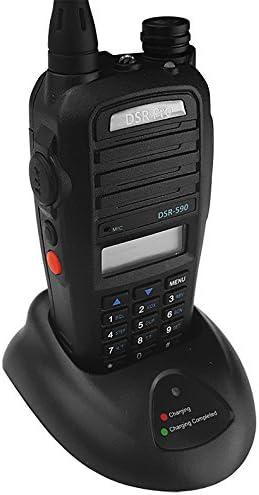 Programmable 2-way Radio Walkie Talkie UHF Motorola Kenwood Replacement