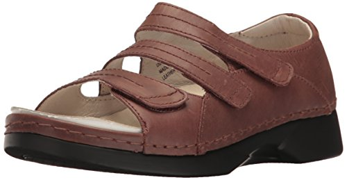 Propet Women's Vitawalker Platform Dress Sandal Brown hX5IL