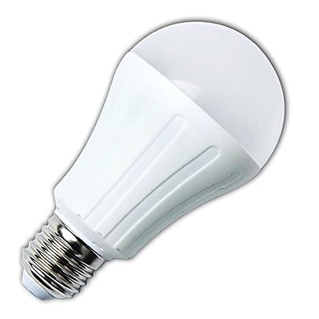 Aigostar Bombilla LED A65 de 11W, rosca grande y luz fría E27: Amazon.es: Iluminación