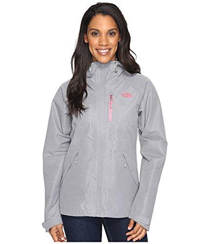 (ザノースフェイス) THE NORTH FACE レディースコートジャケットアウター Dryzzle Jacket [並行輸入品] B06X3V8RPS L|TNF Medium Grey Heather TNF Medium Grey Heather L