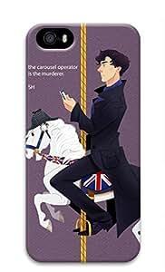 Sherlock Theme-7 Sakuraelieechyan Iphone 5/5S Hard Protective 3D Case