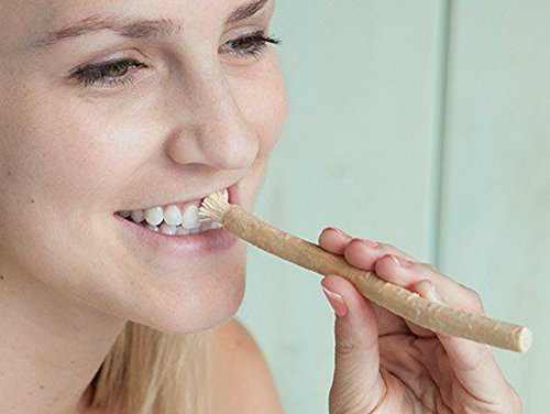 Miswak Club Natural Teeth Whitening Kit/ Natural Toothbrush for Whiter Teeth, Fresher Breath, While Being Chemical Free - 100% Money Back Guarantee!