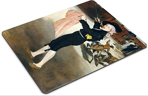 [MSD Mouse Pad Edouard Manet Mlle Victorine Meurent In The Costume Of An Espada Customized Desktop Laptop Gaming] (Mlle Victorine Meurent In The Costume Of An Espada)