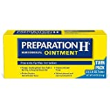 Preparation H Hemorrhoid Symptom Treatment Ointment Itching, Burning and Discomfort Relief (4.0 oz) iiiIII