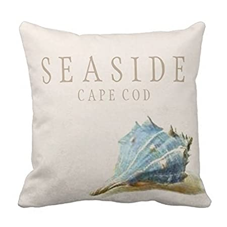 Seashell Throw Pillows For Couch Vintage Blue Easide Cape Cod Home Delectable Cape Cod Decorative Pillows